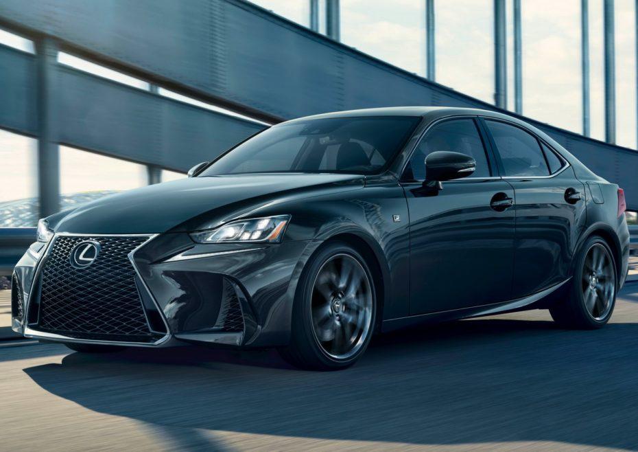 Nuevo Lexus IS300 F-Sport «Black Line»