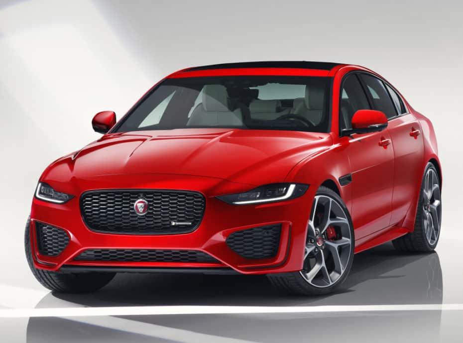 Así es el renovado Jaguar XE