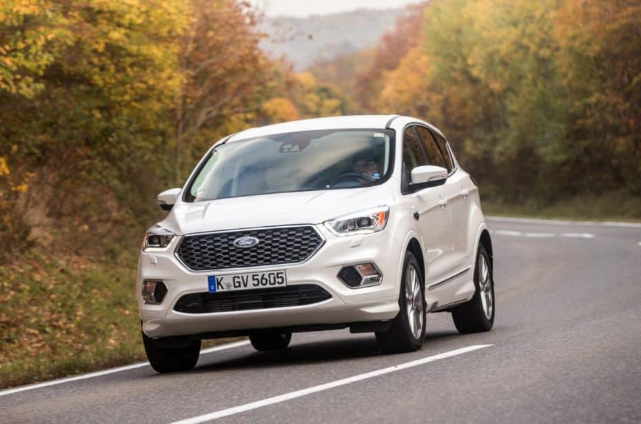 Ford presenta en Francia el Kuga Flexifuel: Usa etanol