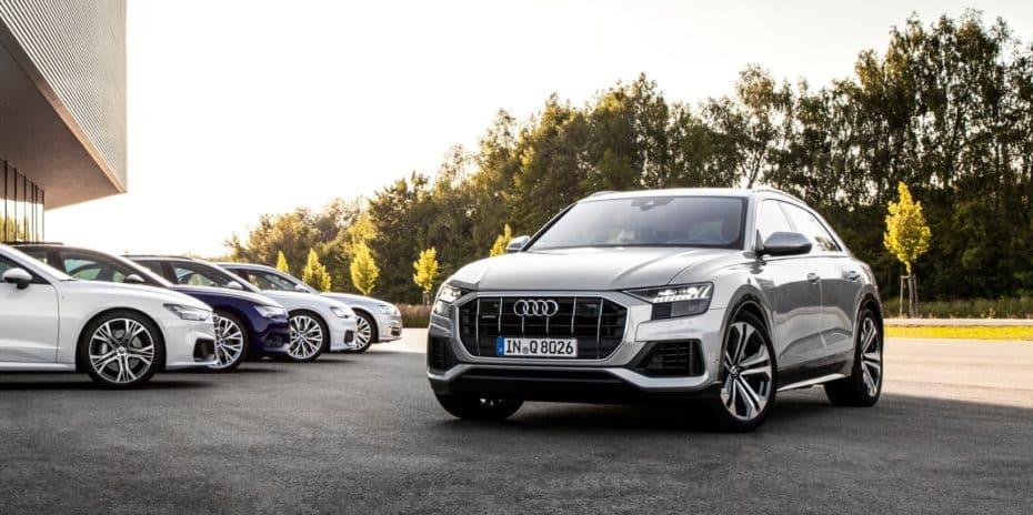 Audi lanza dos nuevos motores V6 para el Q8: 55 TFSI y 45 TDI