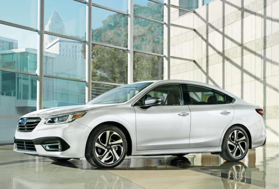 Así es la nueva generación del Subaru Legacy