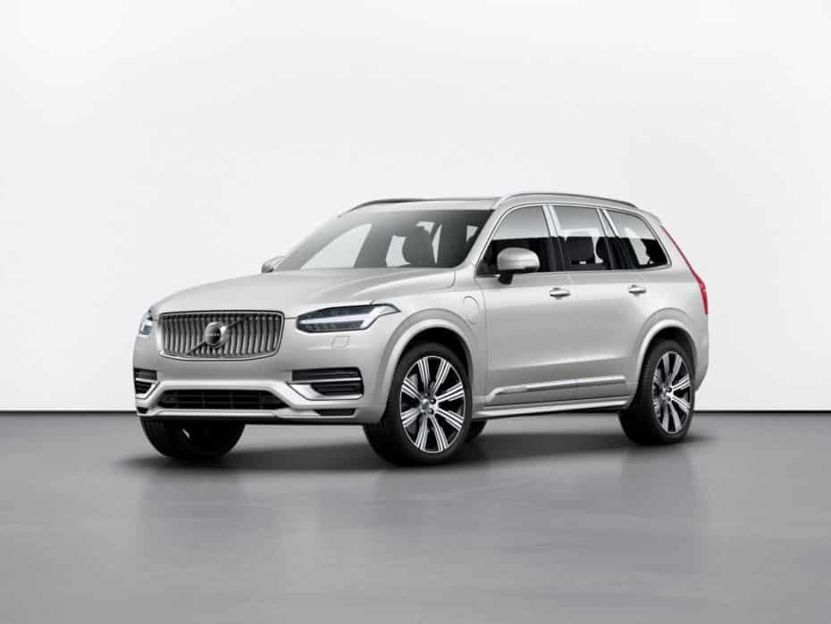 Ligeros cambios para el Volvo XC90