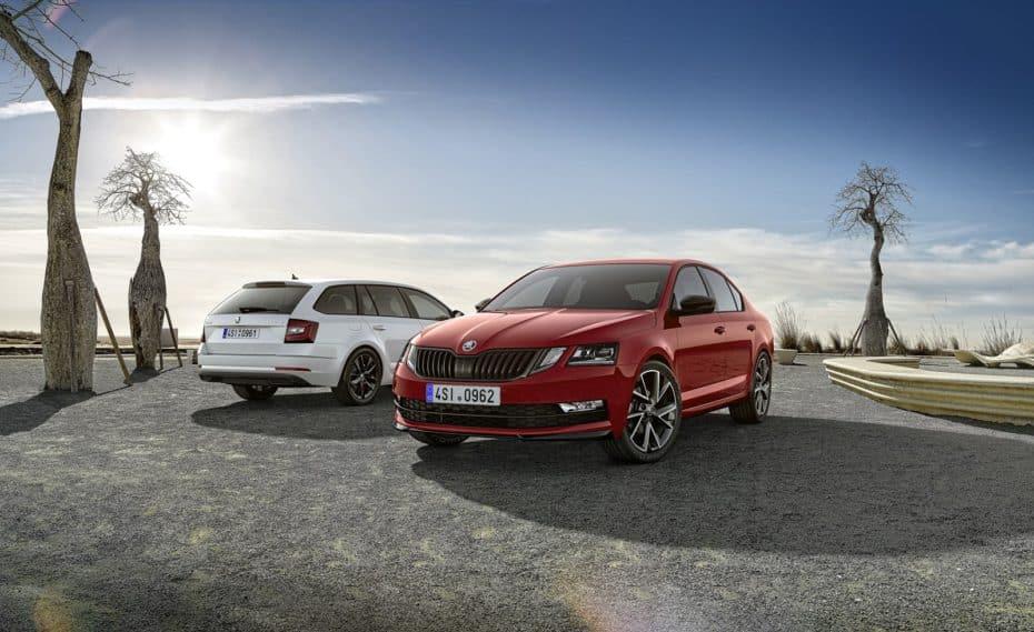 Los Škoda Octavia y Octavia Combi, más deportivos gracias al paquete DYNAMIC +