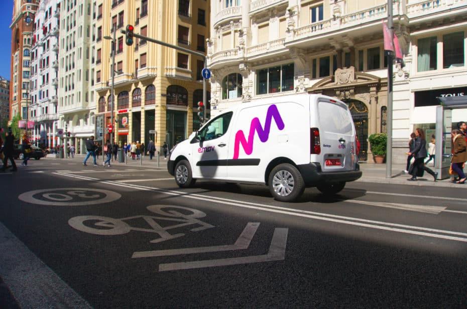 EMOV suma vehículos comerciales a la flota de Madrid