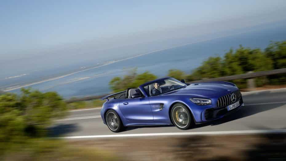 ¡Oficial!: Así es el Mercedes-AMG GT R Roadster, limitado a 750 unidades