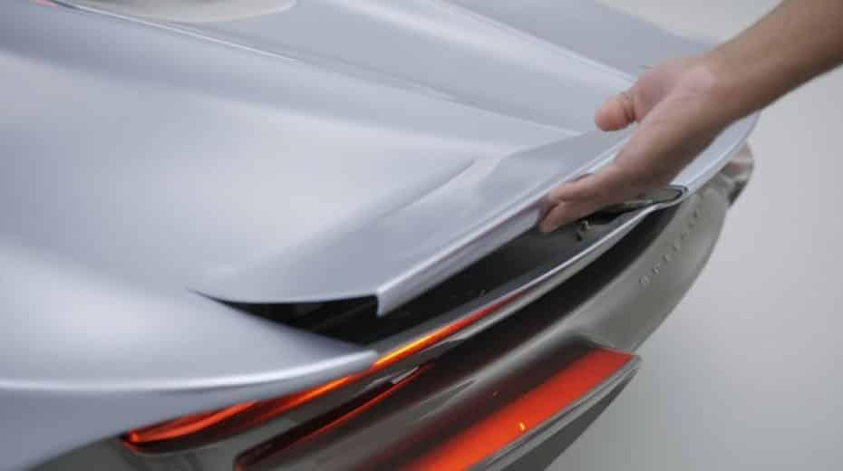 Así funcionan los alerones activos de fibra de carbono flexible del McLaren Speedtail