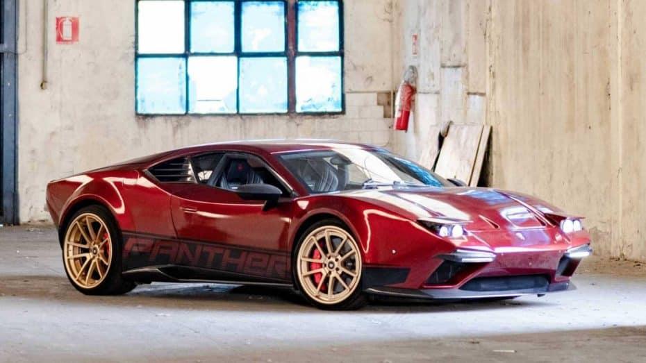 El De Tomaso Pantera está de vuelta: La base de un Lamborghini Huracan y 640 CV bajo el capó