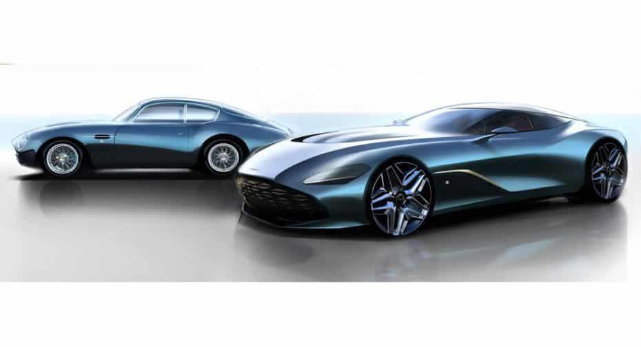 El Aston Martin DBS GT Zagato será un precioso homenaje al centenario de la casa italiana