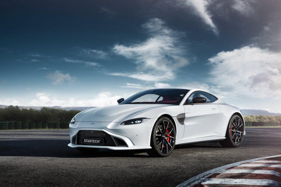Startech tiene un surtido de novedades para Ginebra: El más llamativo, este Aston Martin Vantage de 600 CV