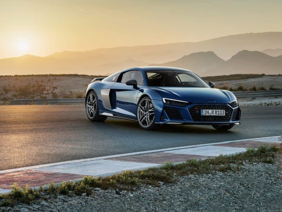 Todos los secretos del Audi R8 Coupé y Spyder 2019 en esta extensa galería de imágenes