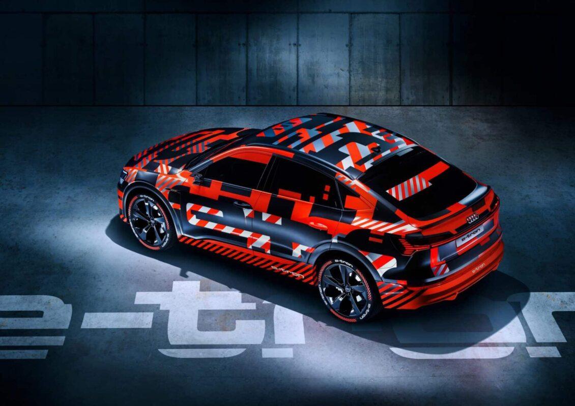 Audi e-Tron Sportback Concept: La versión de corte coupé del Audi e-Tron llegará a finales de año