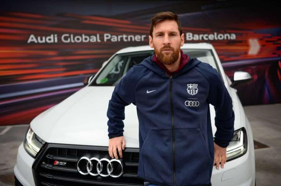 Los jugadores del FC Barcelona reciben sus nuevos Audi: Q7, SQ7, Q8, e-tron y A7