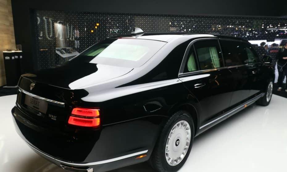 El fabricante de la limusina de Putin se exhibe en Ginebra: ¡Bestial!