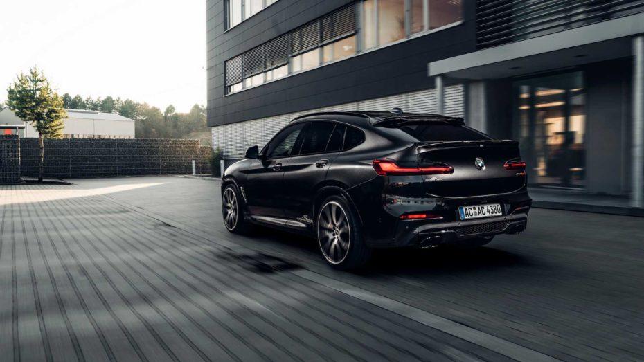 El BMW X4 de AC Schnitzer tiene 380 CV y un kit aerodinámico un tanto excéntrico