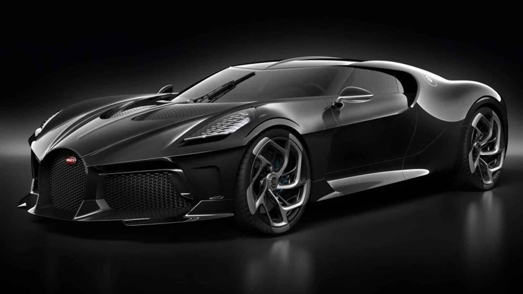 El Bugatti La Voiture Noire era el anterior coche más caro del mundo
