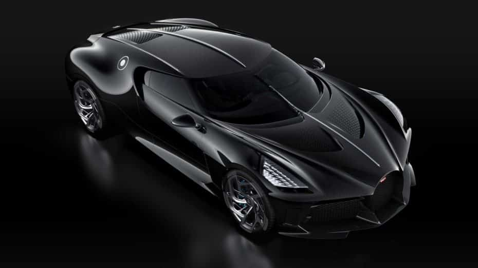 Bugatti La Voiture Noire: La reinterpretación del Type 57 SC Atlantic es el coche nuevo más caro del mundo