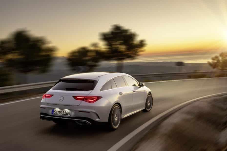 Así es el Mercedes-Benz CLA Shooting Brake: Más práctico que nunca y con 505 litros de maletero