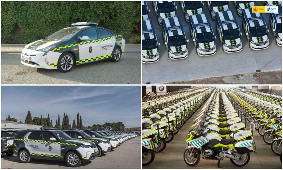 Estos son los 7 últimos vehículos que ha comprado la Guardia Civil: No faltan los premium y los diésel…