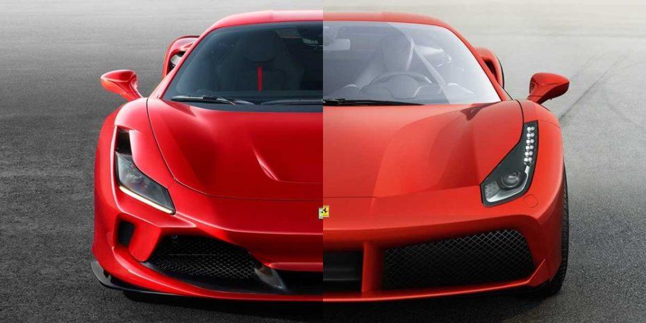 Comparación visual: Juzga tú mismo cuánto ha cambiado el Ferrari F8 Tributo respecto al 488 GTB