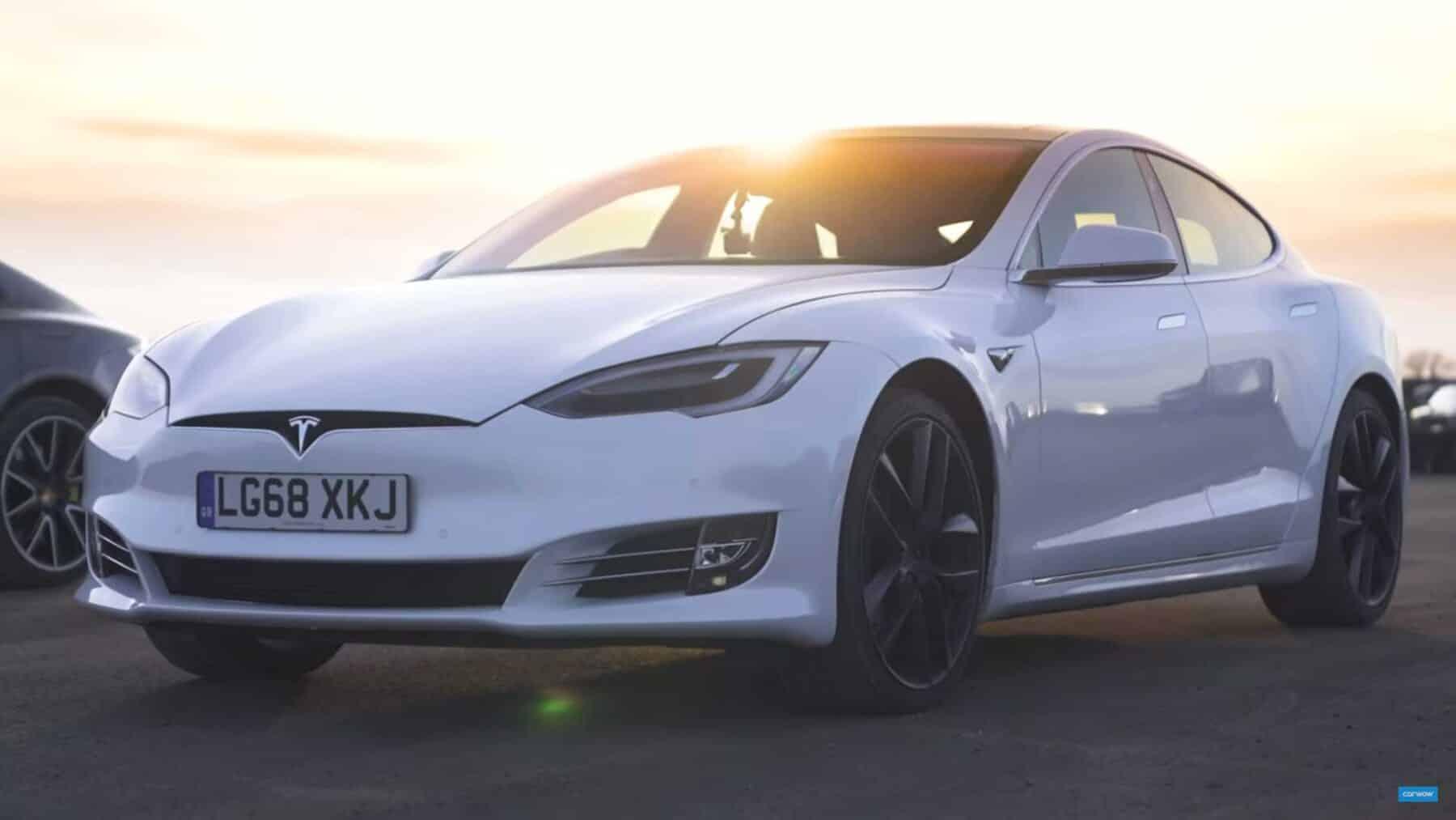 Vídeo BMW M5 Competition vs. Tesla Model S P100D vs ...