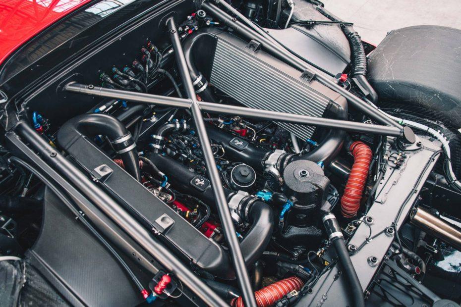 ¿Sabías que Ferrari desarrollo un motor de tres cilindros y dos tiempos?