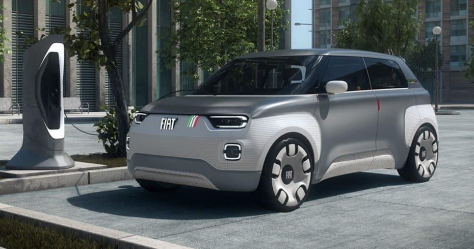Fiat Concept Centoventi: Hasta 500 km de autonomía con baterías modulares