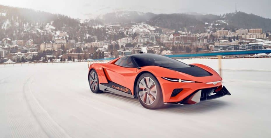 GFG Style Kangaroo: Un eléctrico deportivo con aspiración de crossover…