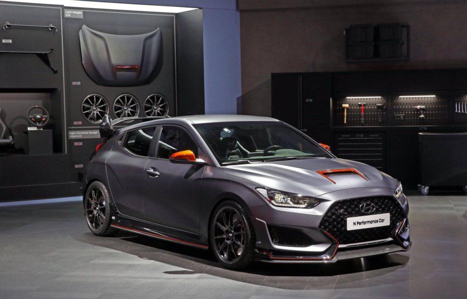 Hyundai Performance Car Concept: Un Veloster que nos anticipa las 'chucherías' que llegarán a la gama 'N'