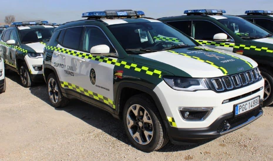 La Guardia Civil de Tráfico estrena flota de gasolina: Jeep Compass 1.4 MultiAir 2 170 CV AWD Aut