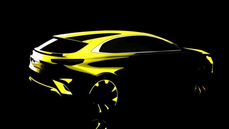 ¡Confirmado! La cuarta carrocería de Kia Ceed será un crossover y llegará este año