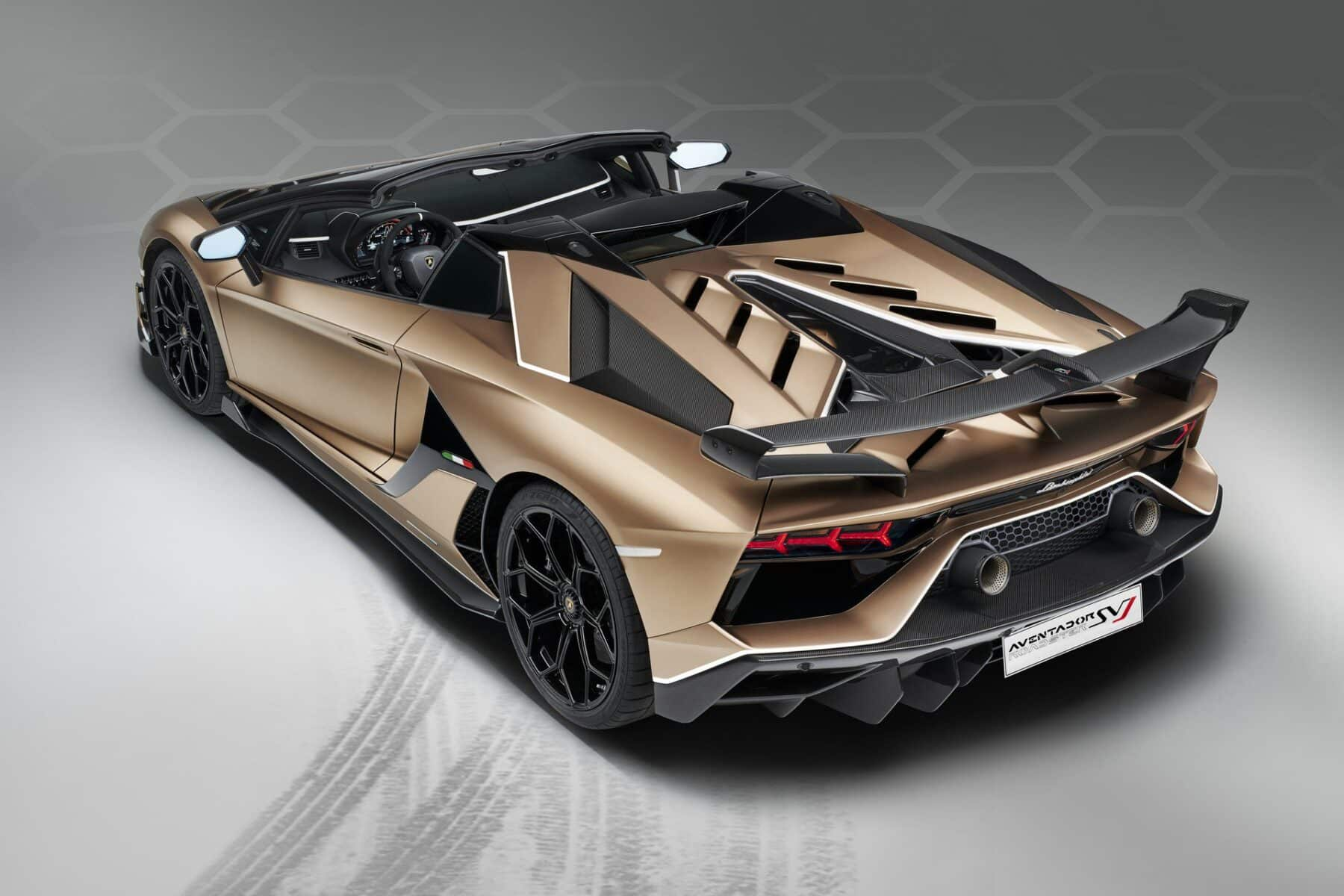 Lamborghini Aventador Svj Roadster 770 Cv A Cielo Abierto