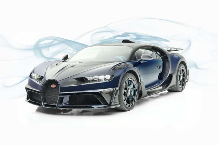 Mansory Centuria: Un salvaje Bugatti Chiron bañado en fibra de carbono