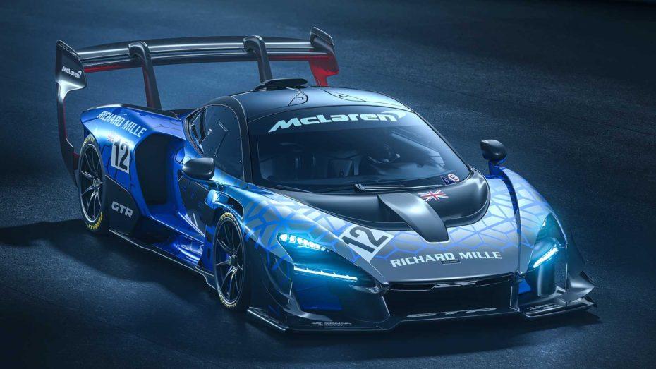 El McLaren Senna GTR ya es una realidad: 1.000 kg. de carga aerodinámica y 825 CV de potencia