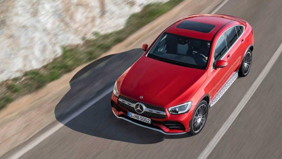 Mercedes-Benz GLC Coupé 2019: Sutil lavado de cara y nuevas mecánicas con pegatina ECO