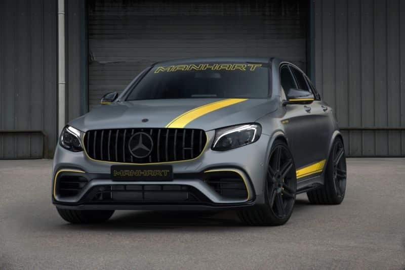 Manhart GLR 700 Coupé: Un Mercedes-AMG GLC 63 4MATIC+ Coupé de aspecto siniestro y 700 CV
