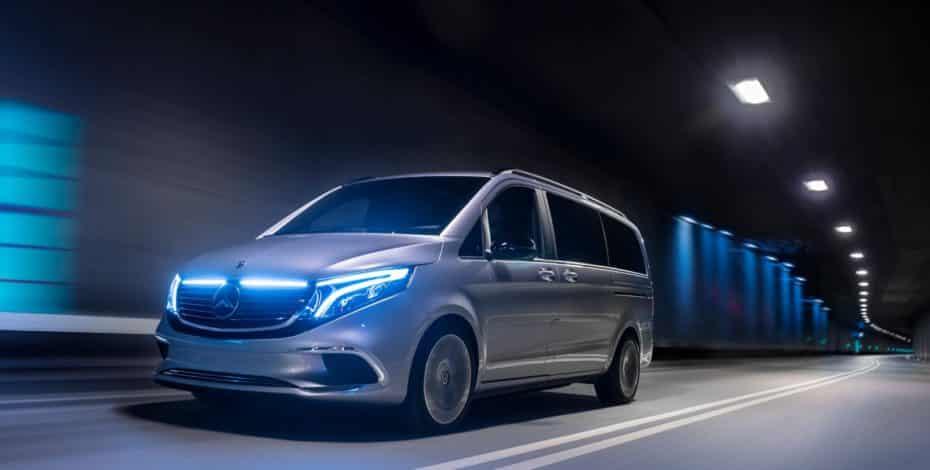 Mercedes-Benz Concept EQV: El anticipo de la Clase V 100% eléctrica