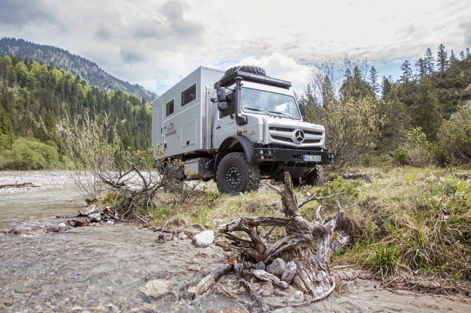 Mercedes-Benz Unimog Ziegler Adventure Moghome: Un apartamento de lujo en el fin del mundo