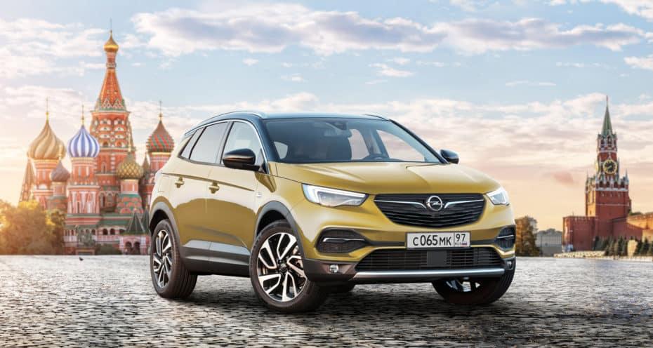 Los Grandland X, Zafira Life y Vivaro, los Opel que regresan a Rusia