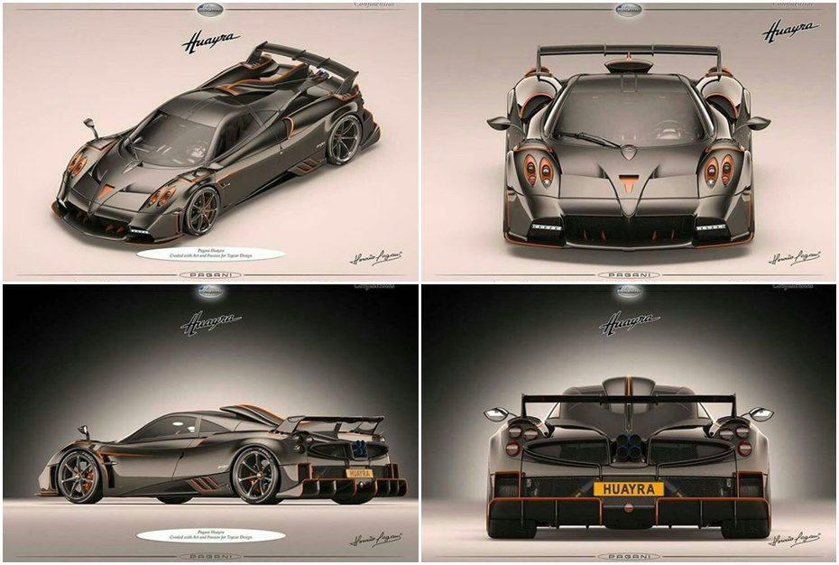 ¡Filtrado! Pagani Huayra Dragón: ¿Sólo 5 ejemplares de una bestia V12 para despedir al Huayra?