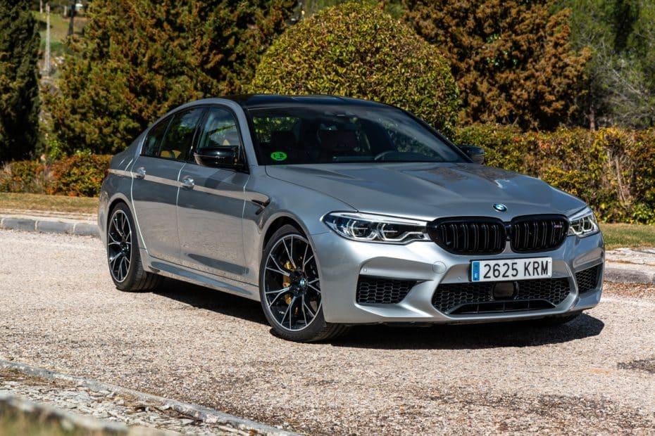 Prueba BMW M5 Competition 2019: No es una berlina de alto rendimiento, es una locura