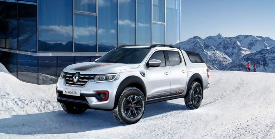 Renault Alaskan Ice Edition: Llegará en otoño a algunos mercados