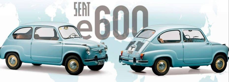 El SEAT 600 se convierte en el e600 gracias a Little: Clásicos en formato eléctrico