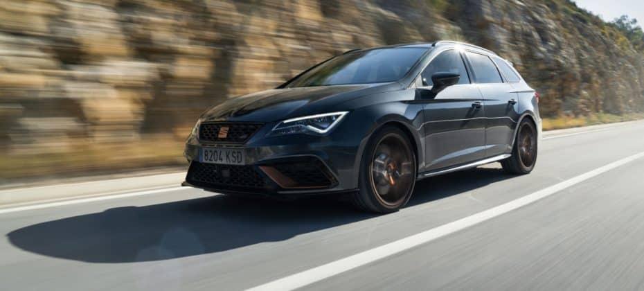 Y ahora el SEAT Leon CUPRA R ST con 370 CV de serie…: 0 a 100 km/h en 4,5 s