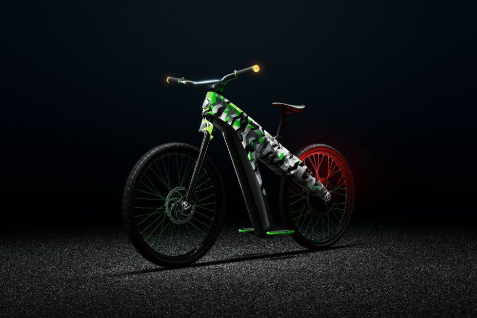 Skoda Klement Concept: Una bici eléctrica con aceleración y frenado controlados por inclinación
