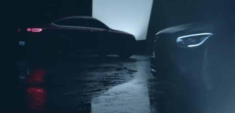 El Mercedes-Benz GLC Coupé 2019 calienta motores antes de su debut en Nueva York
