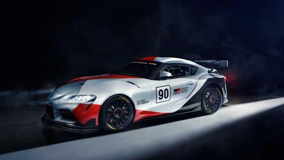 Toyota GR Supra GT4 Concept: La versión de competición del nuevo Supra pronto será una realidad
