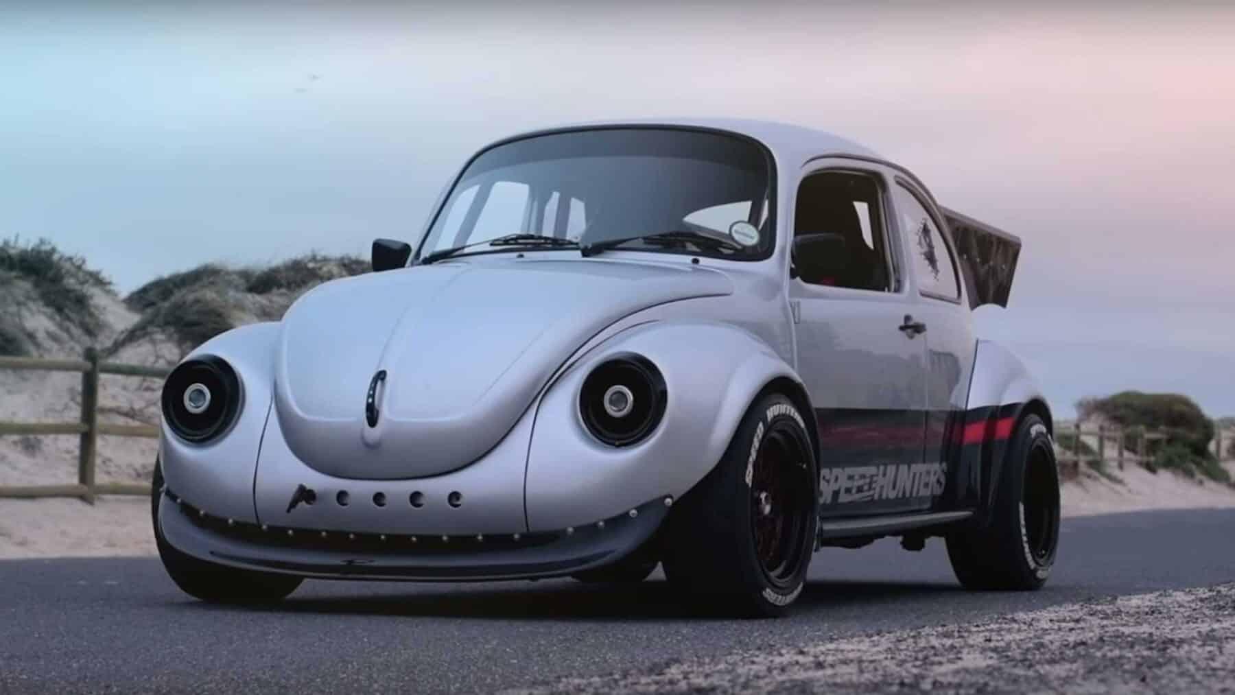 Volkswagen Beetle Con Motor Subaru Speedhunters