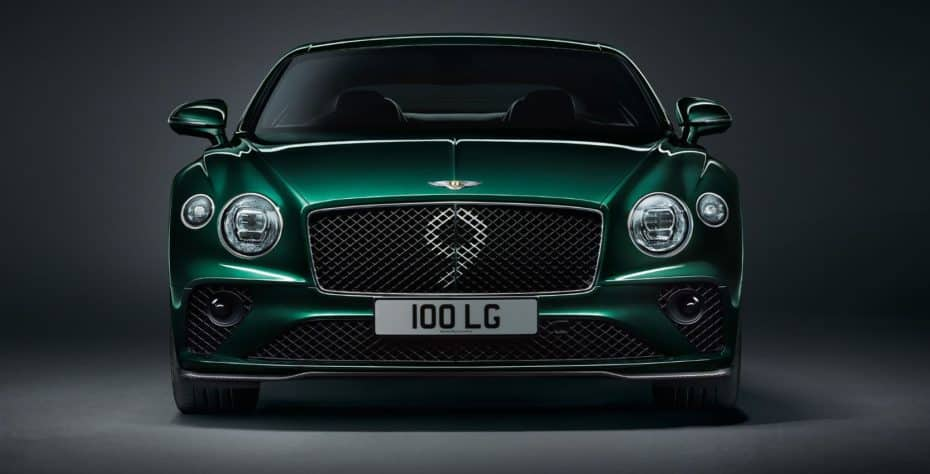 Bentley Continental GT Number 9 Edition by Mulliner: Espíritu de competición