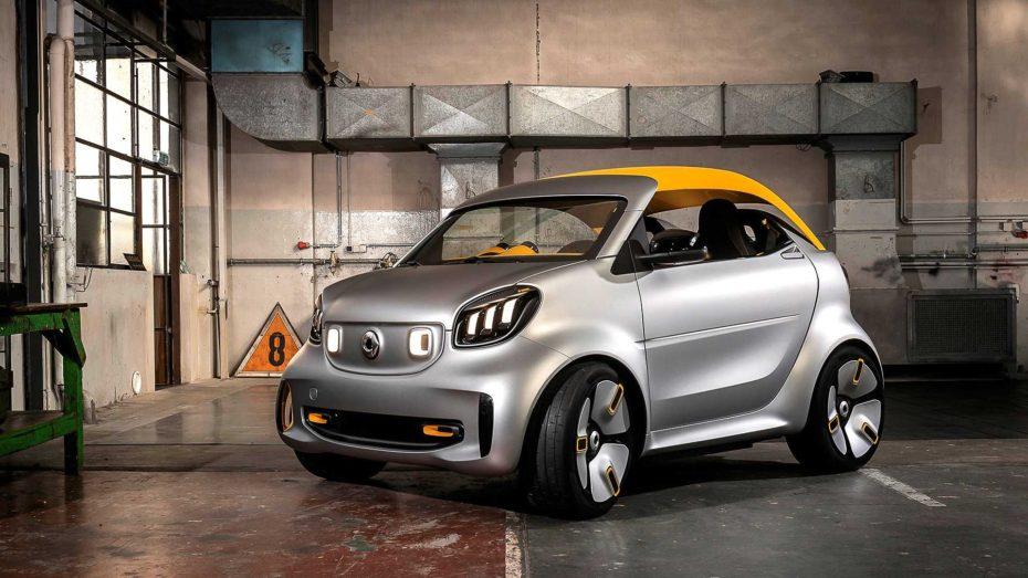 Daimler-Benz podría vender el 50% de Smart: A Geely