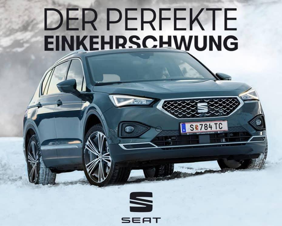 Aquí los modelos más vendidos en Austria durante febrero: El SEAT Tarraco ya es líder de su segmento
